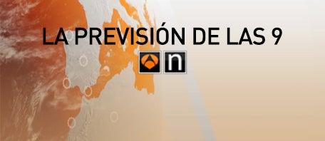 LA PREVISIÓN DE LAS 9.