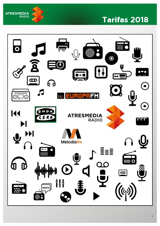 Folleto emisoras radio 2018