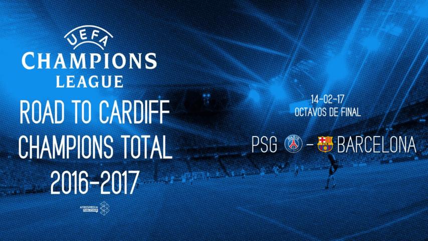 Champions Total : PSG y el FC Barcelona