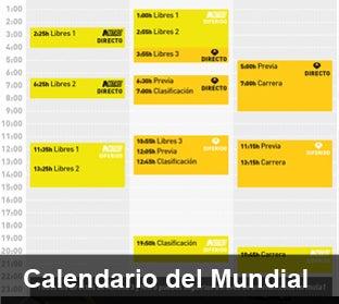 Consulta el calendario