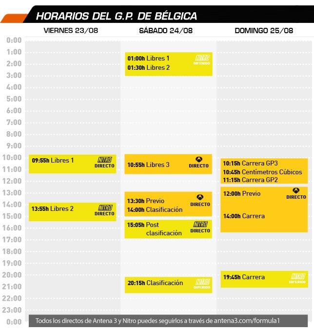 GRAN PREMIO DE BELGICA 2013 Horarios_gpbelgica2013_2
