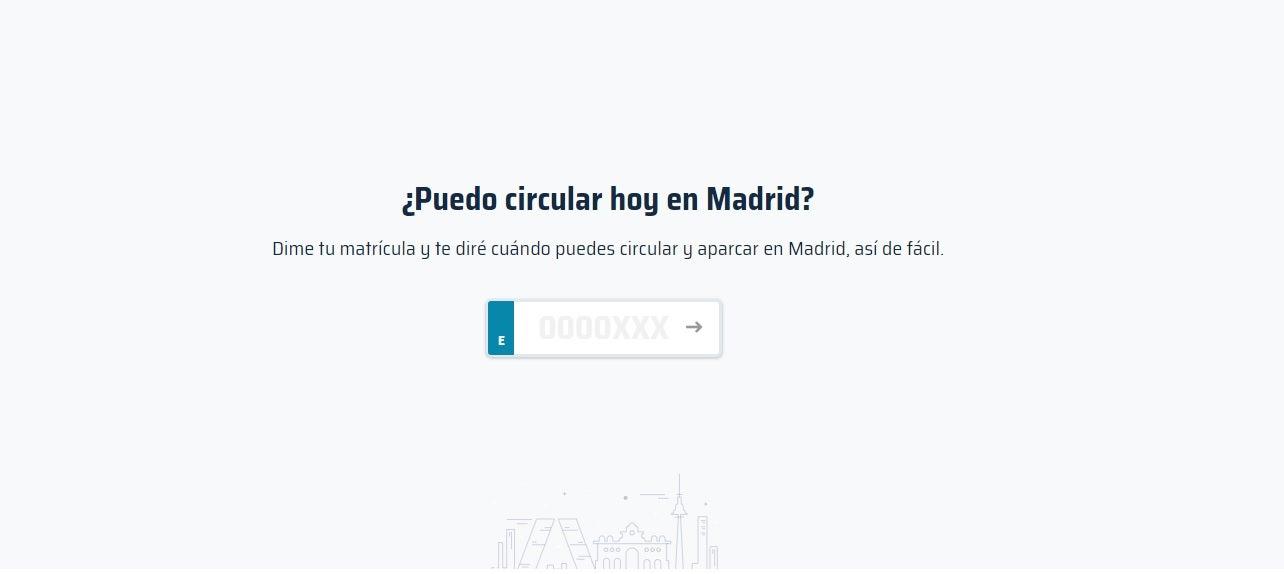 Circular en Madrid