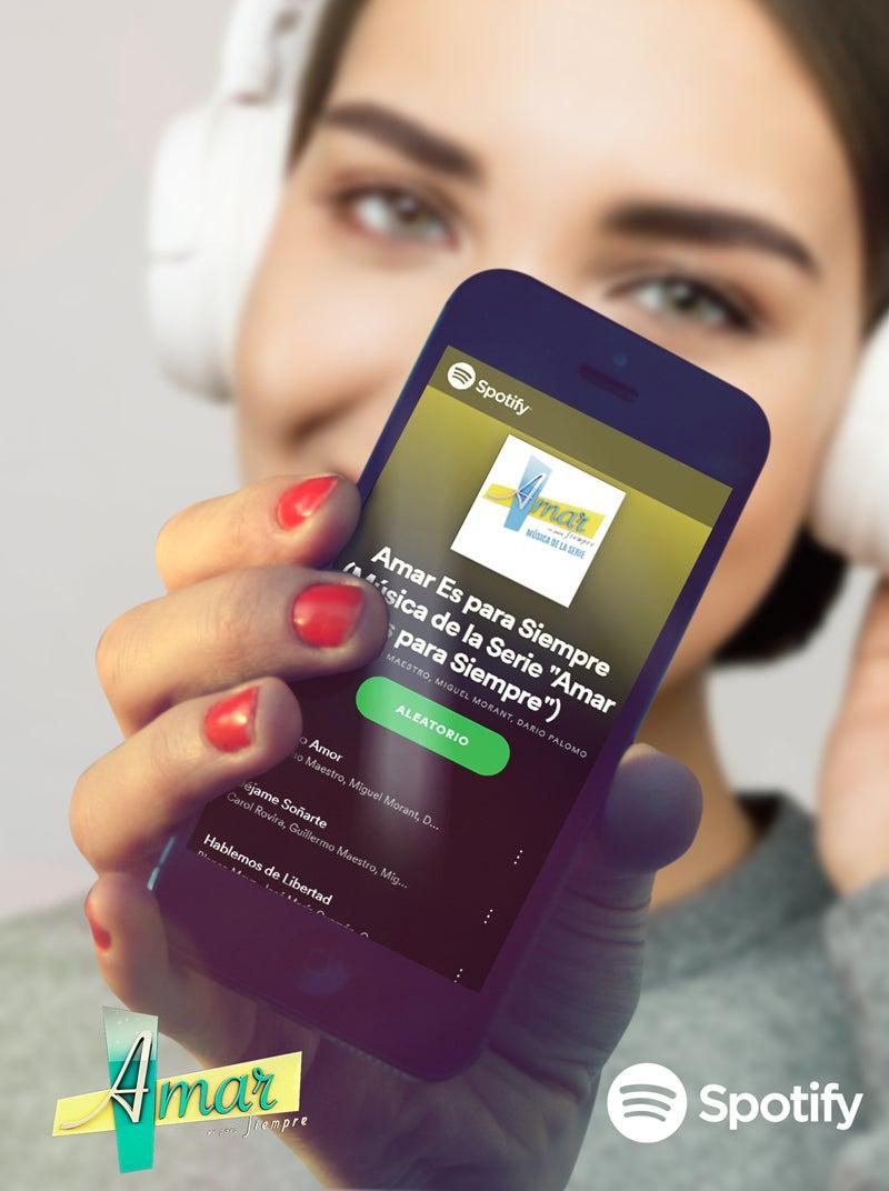 Lista Spotify de Amar es para siempre