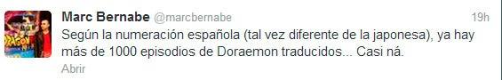 Twitter Marc Bernabé