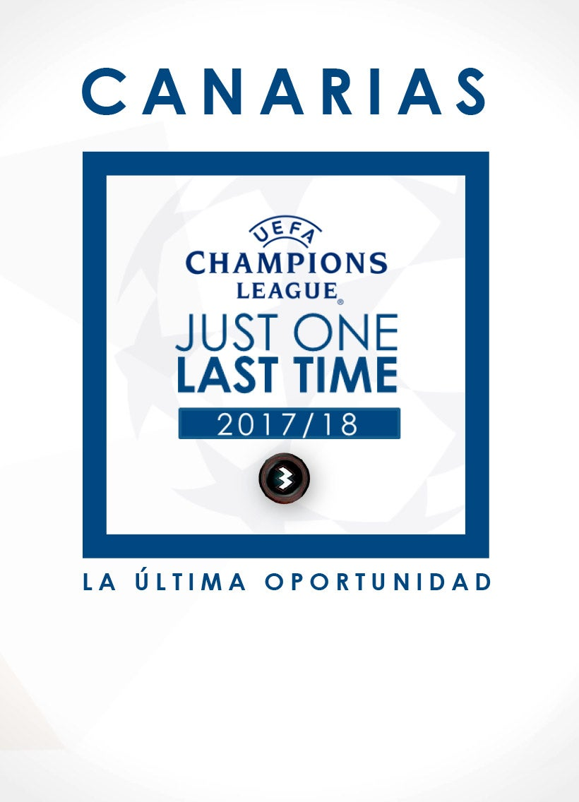 Tarifas Champions League Canarias 2017-2018