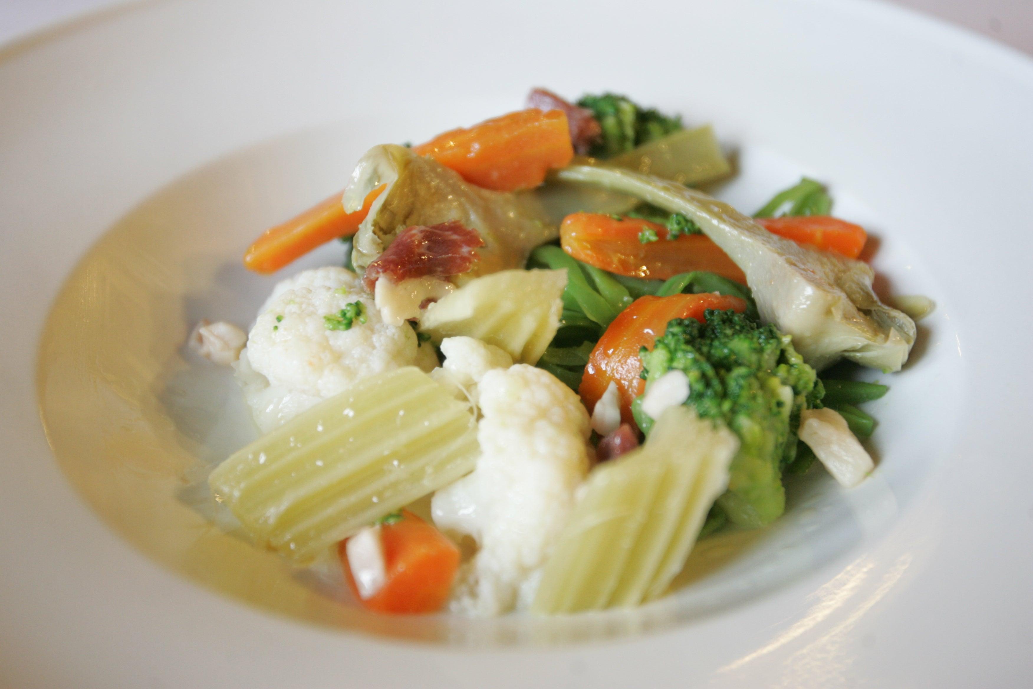 Cocinatis sabes hacer la menestra perfecta aprende de - Como preparar menestra de verduras ...