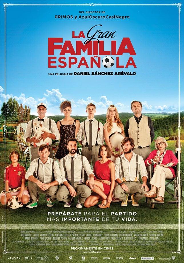 'La gran familia española'  -  Campeones