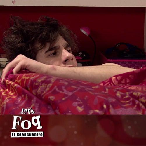 Yoli y Fer en la cama