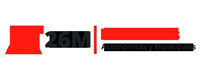 Logo Elecciones Autonómicas y Municipales 26M