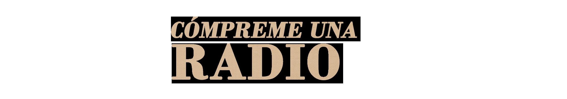 Compreme una Radio