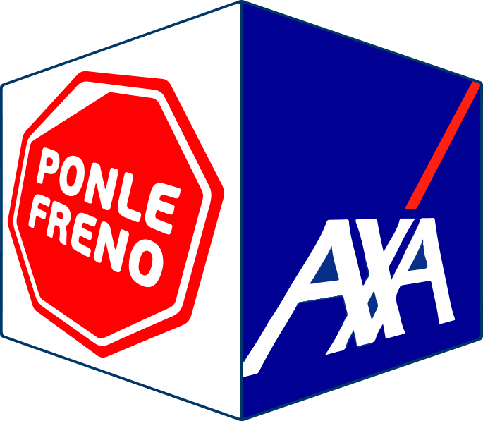 Logo Axa Ponle Freno