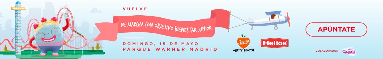 Inscripciones Marcha Objetivo Bienestar Junior 2019