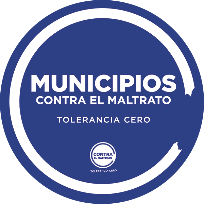 Logotipo Municipios contra el maltrato