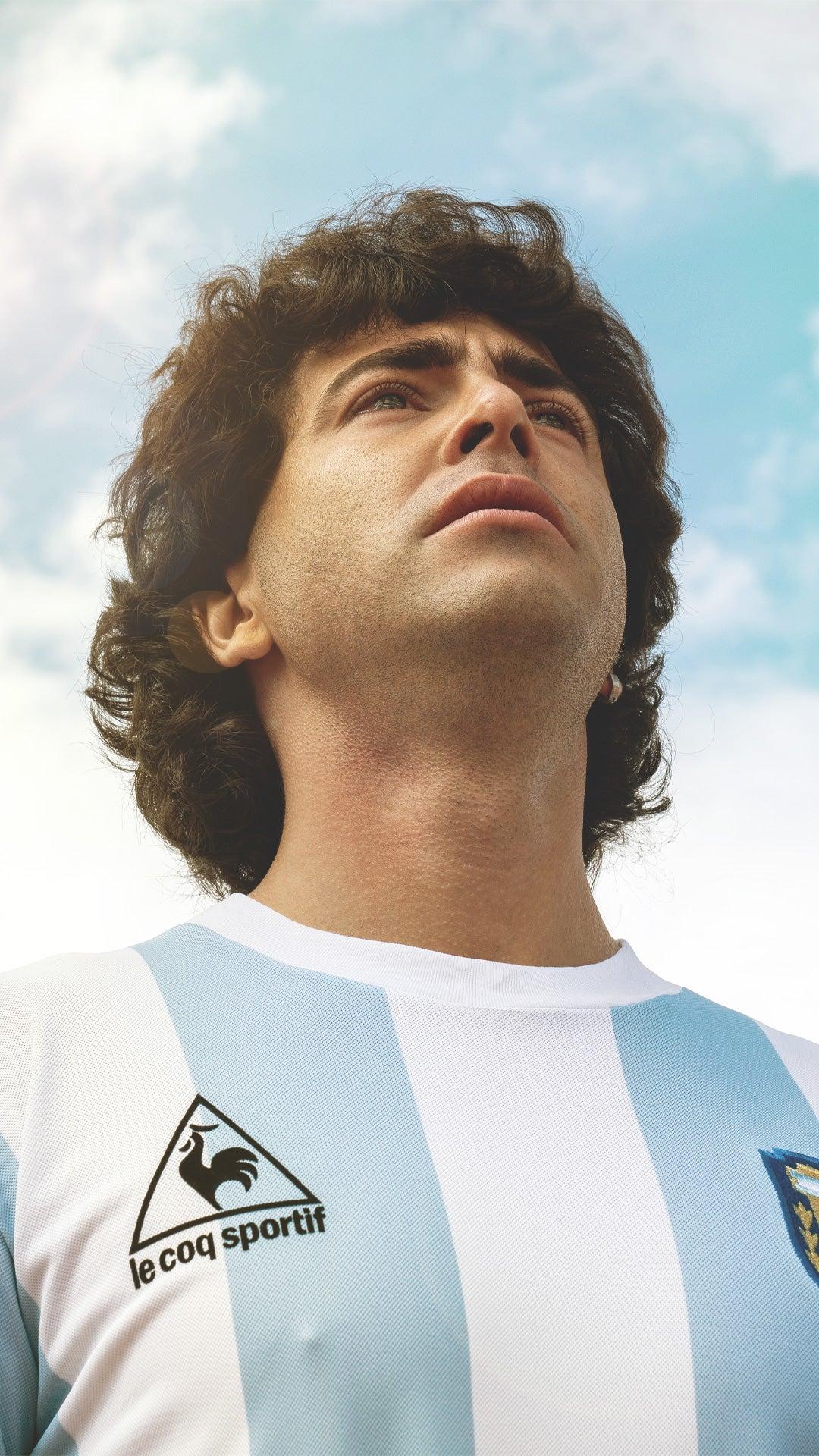 Nazareno Casero interpreta Maradona en su mejor etapa como futbolista.