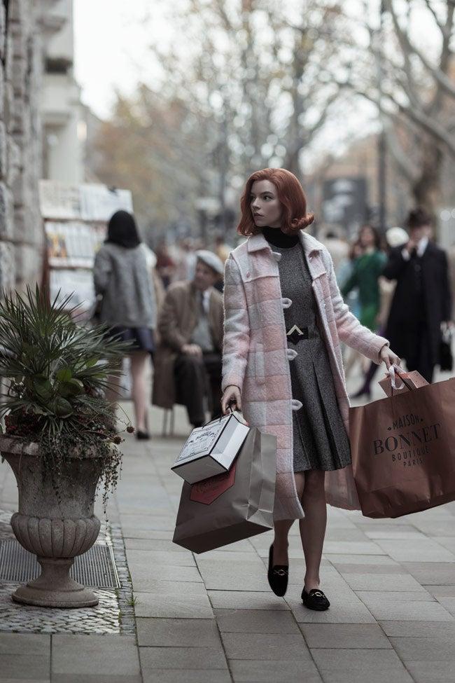 Harmon y Fisher también comparten la compulsión por la compra de ropa.