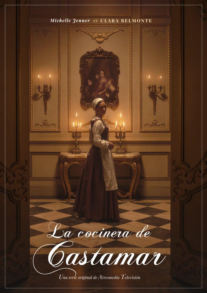 Michelle Jenner es una de las protagonistas principales de 'La cocinera de Castamar'.