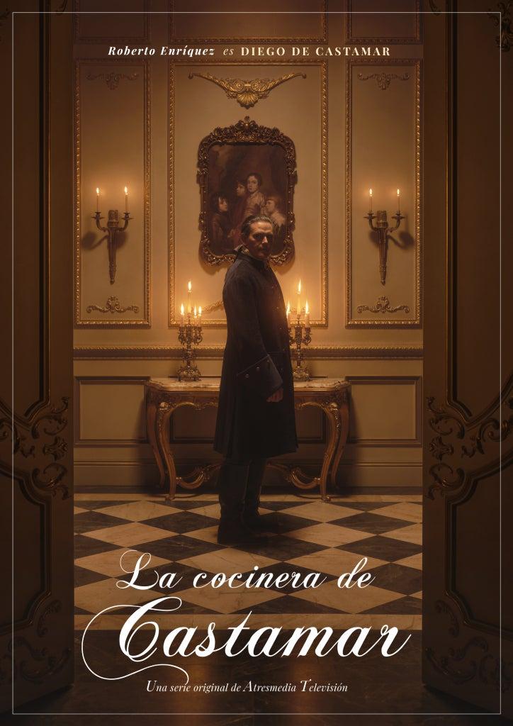 Roberto Enríquez es otro de los protagonistas principales de 'La cocinera de Castamar'.