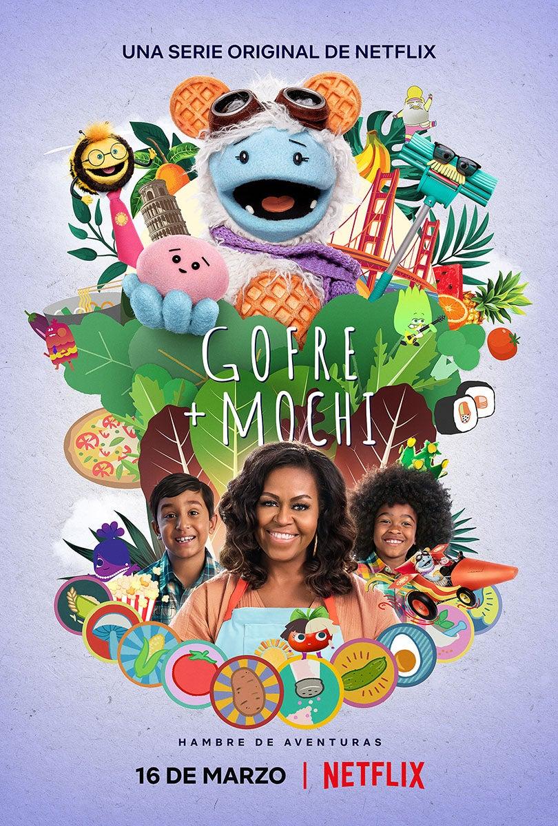 'Gofre + Mochi' es la nueva serie familair de Netflix.