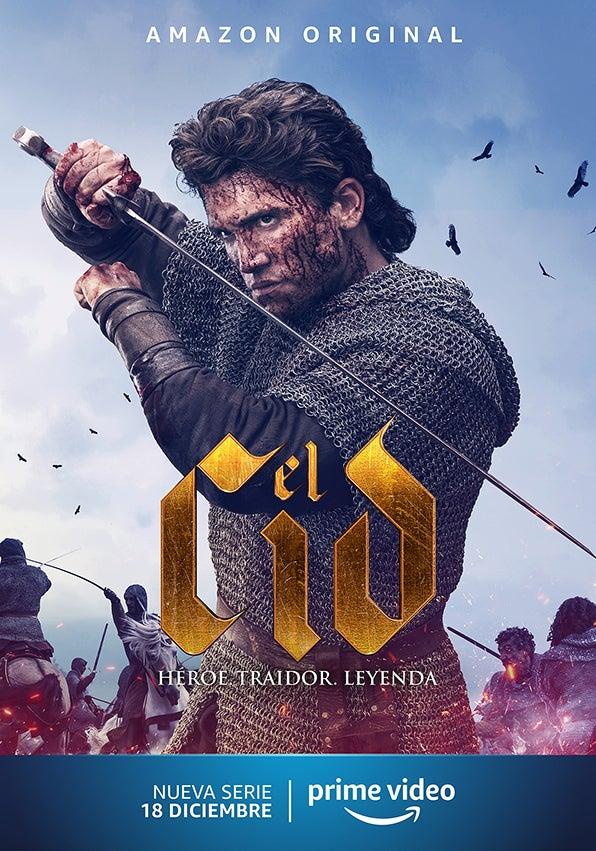 'El Cid' llegará a Amazon Prime Video el 18 de diciembre.