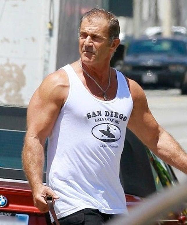 Mel Gibson y su lomazo a los 57